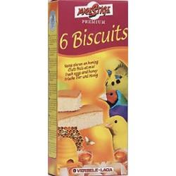 6 Biscuits oiseaux miel