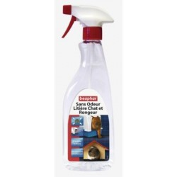 DESINFECTANT DESODORISANT CHAT/RONGEUR 500ML