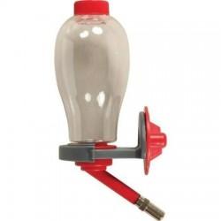 Biberon avec remplissage par le dessus 250 ml rouge