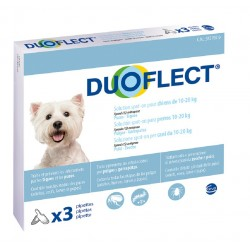 DUOFLECT CHIEN 10-20 Kg 3 PIPETTES