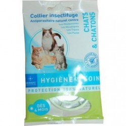 COLLIER INSECTIFUGE CHAT/CHATON