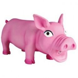 Cochon avec son original, latex 17 cm