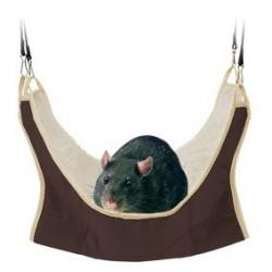 Hamac pour rats/petits rongeurs 30 x 30 cm
