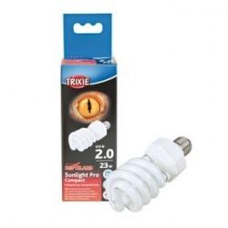 Sunlight Pro Compact 2.0, Lampe UV compacte D 60 x 152 mm, 23 W