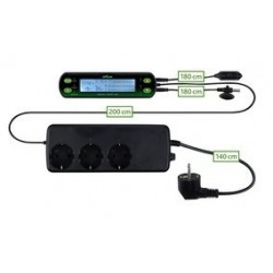 Thermostat/Hygrostat, digital, deux circuits