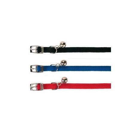 6 colliers chats, elastique, nylon