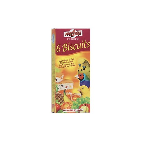 6 Biscuits oiseaux fruit