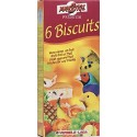 6 Biscuits oiseaux fruit