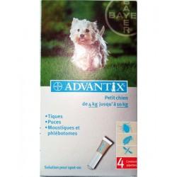 ADVANTIX PETIT CHIEN 4-10 Kg 4 PIP
