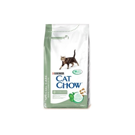 CAT CHOW STERILIZED 3 KG