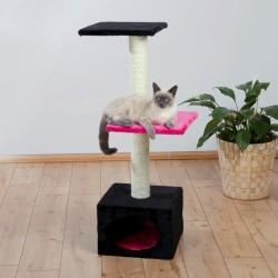Arbre a chat Badalona 109 cm, noir/fuschia
