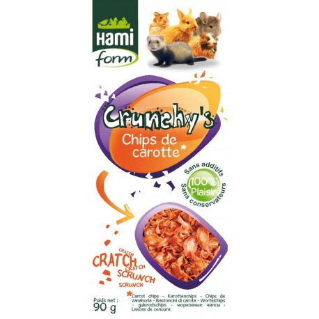 CHIPS CAROTTES 90G