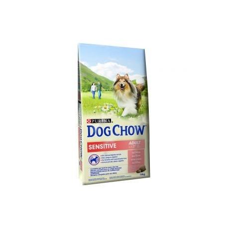 DOG CHOW SENSIT.SAUMON/RIZ 14KG