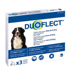 DUOFLECT CHIEN 40-60 Kg 3 PIPETTES