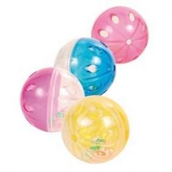 Balles sonores D 4,5 cm, 4 Pcs