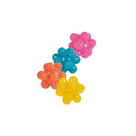 Balles herisson, caoutchouc D 3,5 cm, 4 Pcs