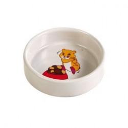 Ecuelle ceramique avec motif, hamster 90 ml/D 8 cm