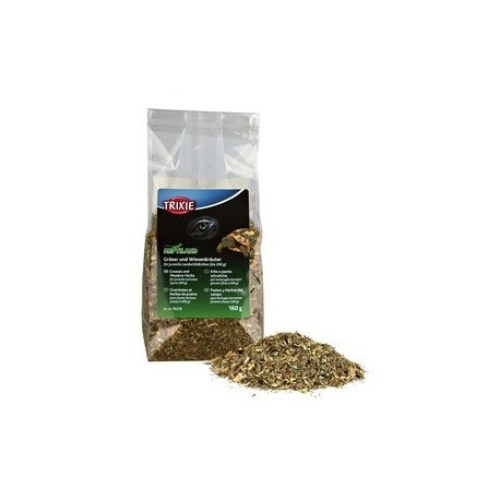 Graminees et herbes de prairie pour jeunes tortues 160 g