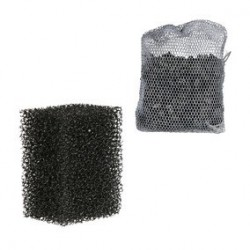 2 filtres eponge et 1 charbon actif pour M 380