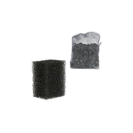 2 filtres eponge et 1 charbon actif pour M 1000
